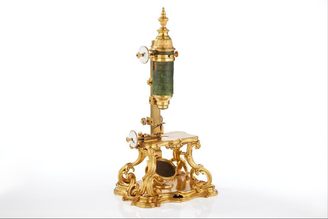 Prunkmikroskop nach Duc de Chaulnes