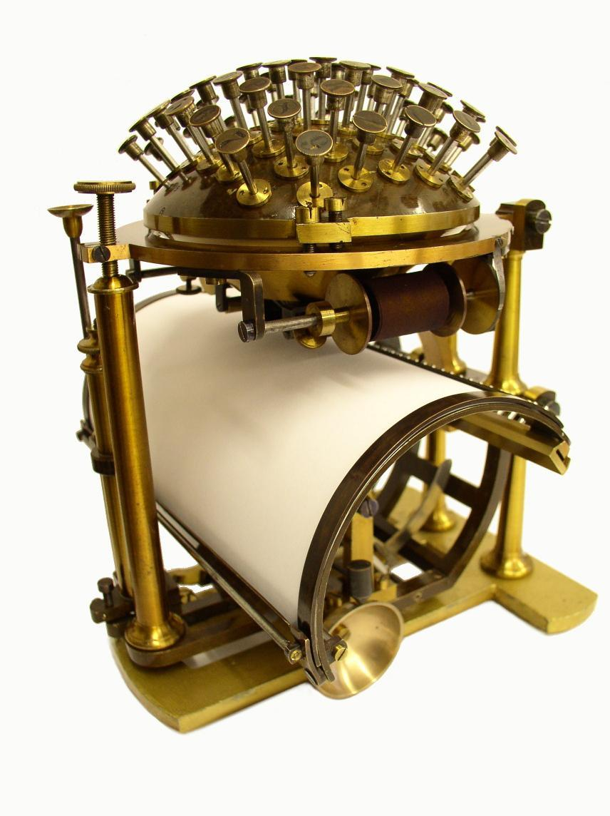 Skrivekugle (Schreibkugel) aus dem Besitz Friedrich Nietzsches