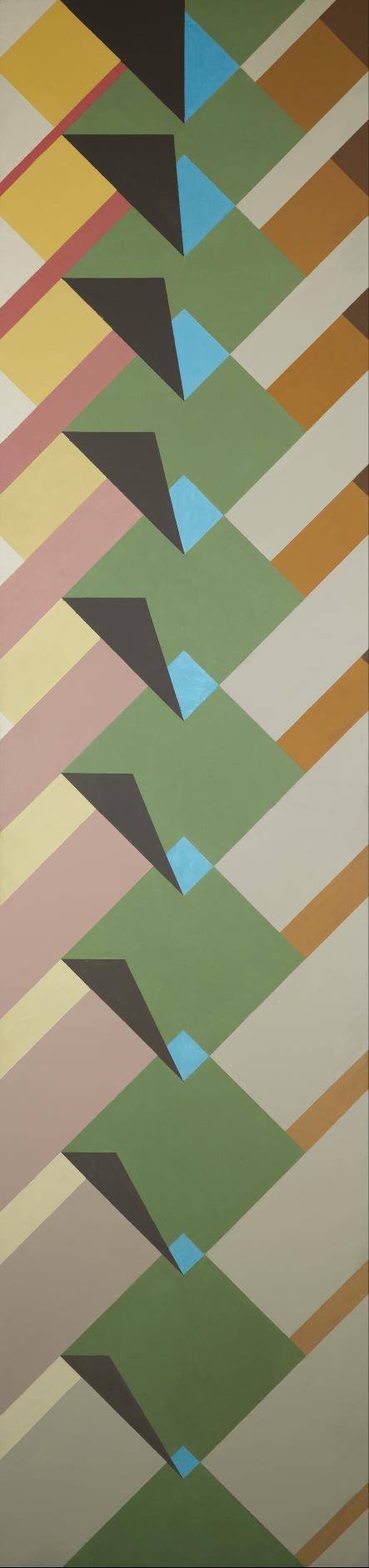 Metamorphose mit grünem Quadrat