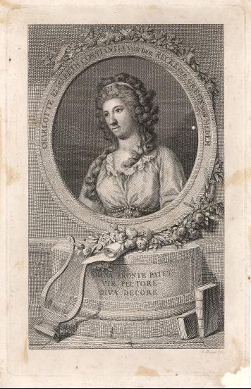 Charlotta Elisabeth Constantia von der Recke (Porträt)