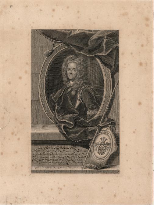 George Ernst von Zehmen (Porträt)