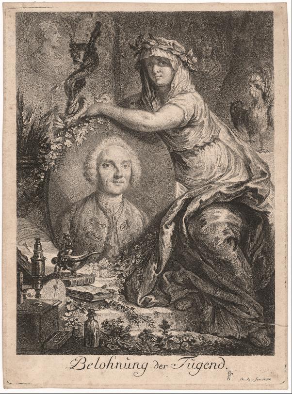 Bildnis Johann Nathaniel Lieberkühn
