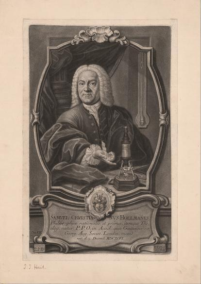 Bildnis des Samuel Christian Hollmann