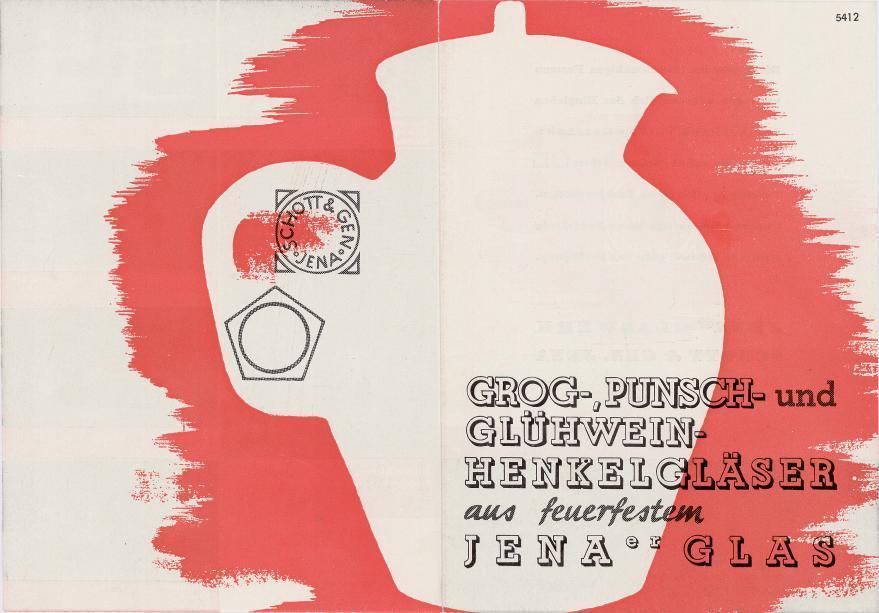 Grog-, Punsch- und Glühwein-Henkelgläser aus feuerfestem Jenaer Glas