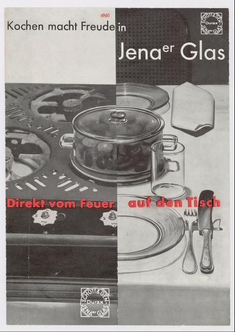 Kochen macht Freude in Jenaer Glas - Direkt vom Feuer auf den Tisch