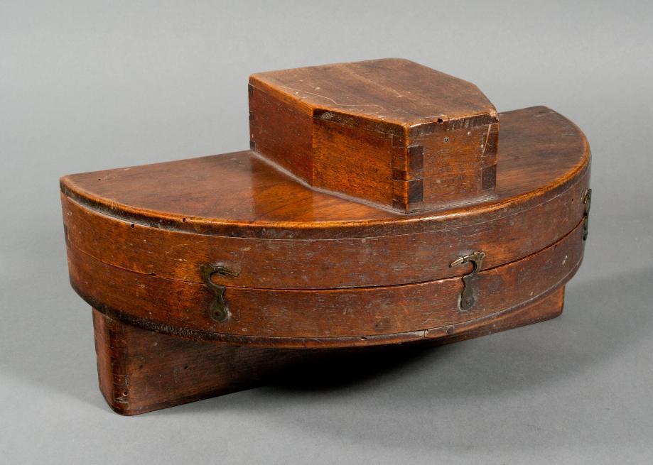 Graphometer (mit Holzkasten)