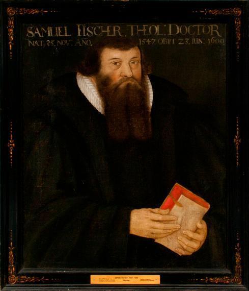 Porträt Samuel Fischer