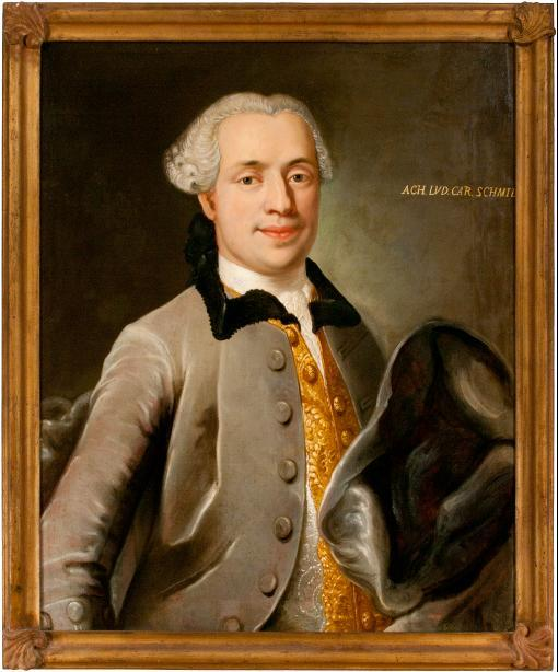 Porträt Achatius Ludwig Carl Schmid