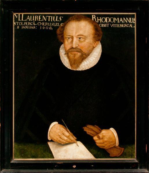 Porträt Lorenz Rhodomann