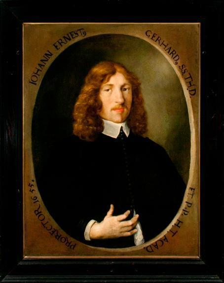 Porträt Johann Ernst Gerhard
