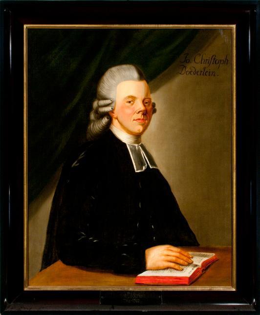 Porträt Johann Christoph Doederlein