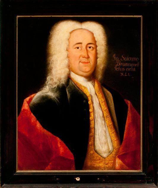 Porträt Johannes Salomo Brunnquell