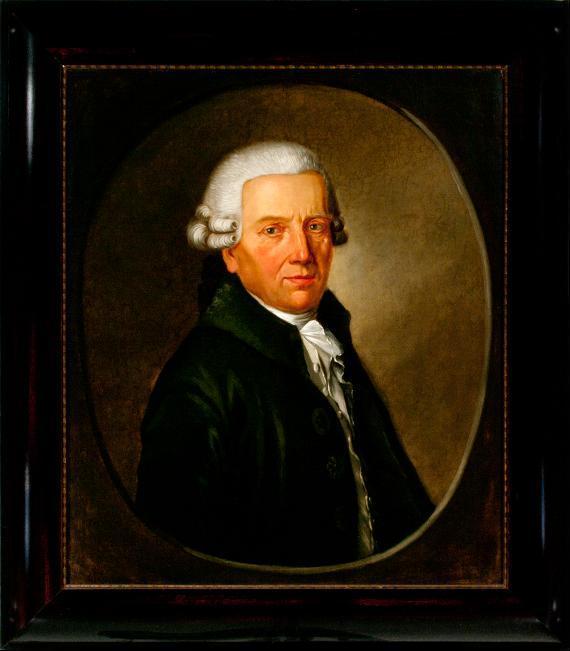 Porträt Justus Christian Ludwig von Schellwitz