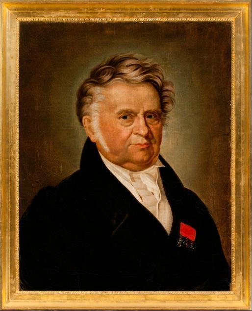 Porträt Unbekannter Mann mit Orden