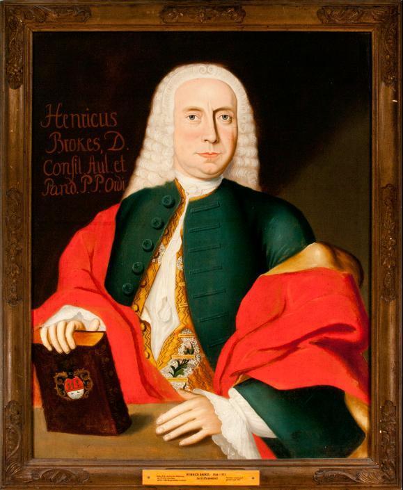Porträt Heinrich Brokes