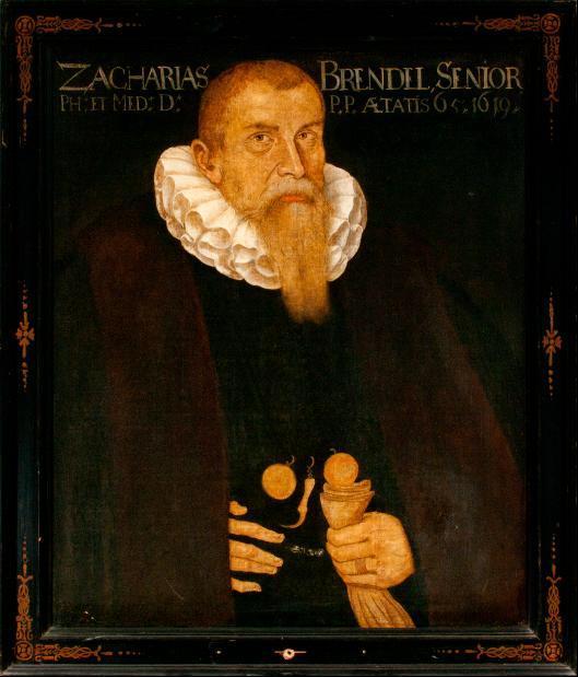Porträt Zacharias Brendel (Senior)