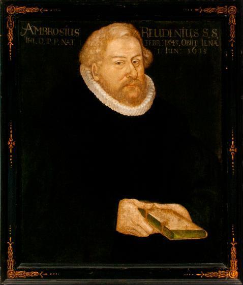 Porträt Ambrosius Reuden(ius)