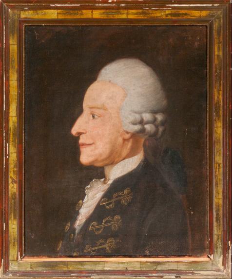 Porträt Unbekannter Mann