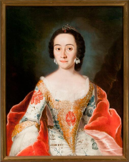 Porträt Unbekannte Frau