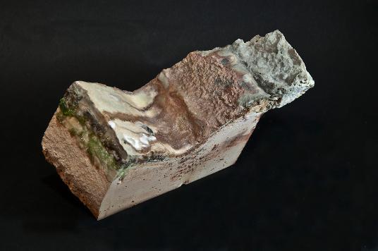 Schwappkante einer Behälterglaswanne