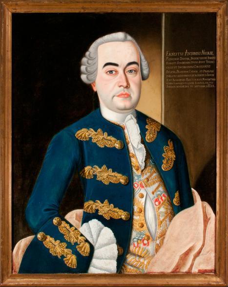 Porträt Ernst Anton Nicolai