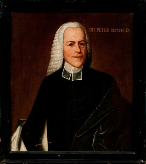 Porträt Johann Peter Reusch
