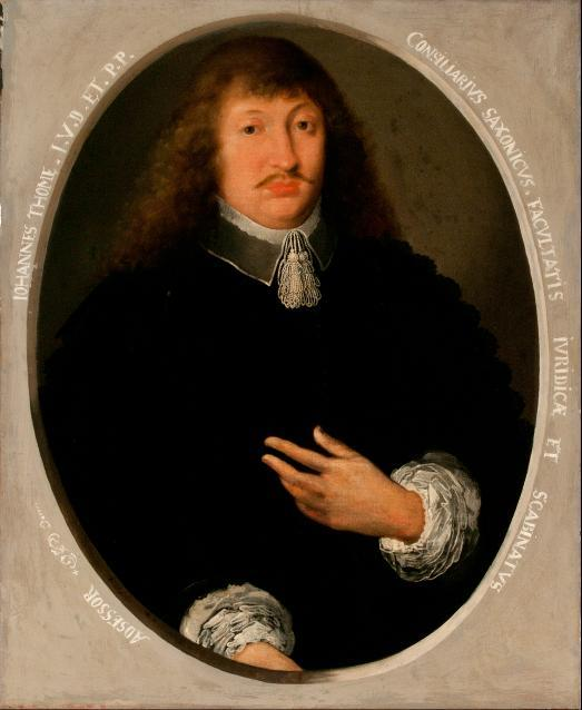 Porträt Johannes Thomae (Thomasius)