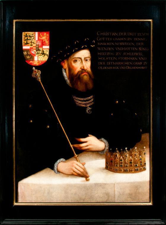 Porträt Christian III.