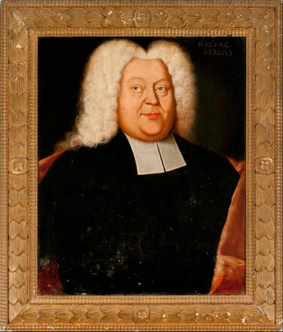 Porträt Johann Jacob Syrbius