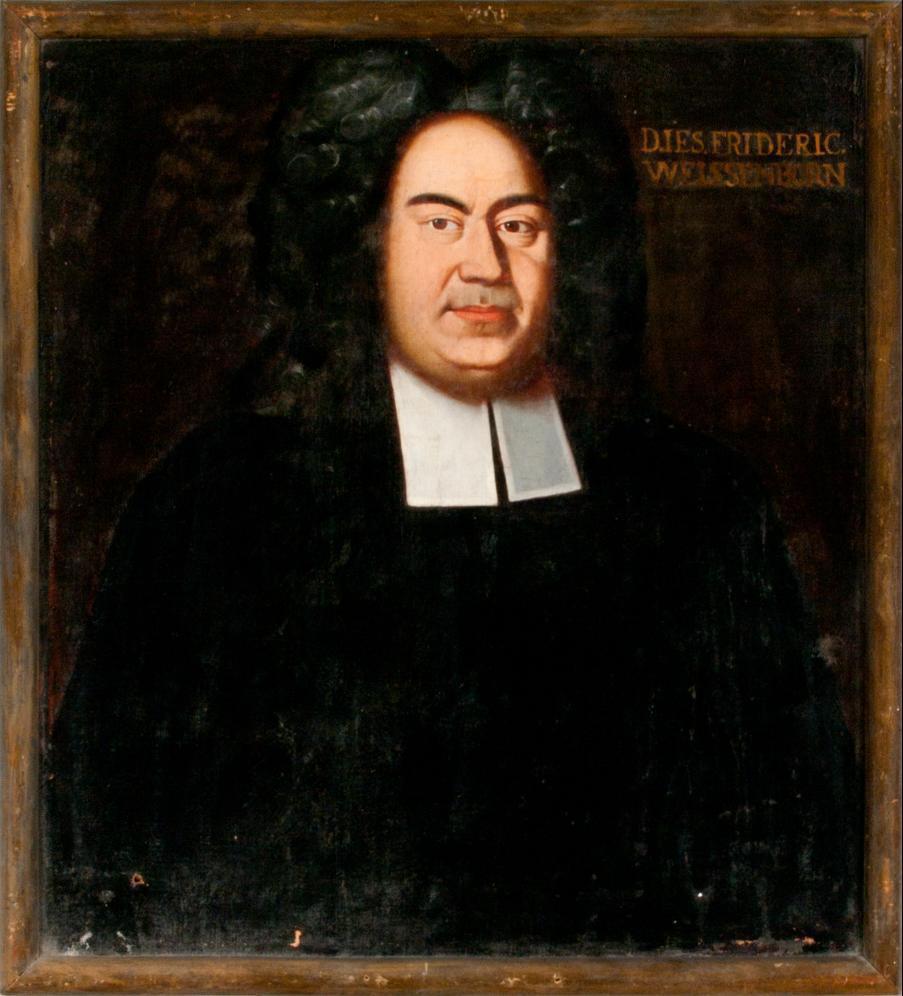 Porträt Jesaias Friedrich Weissenborn
