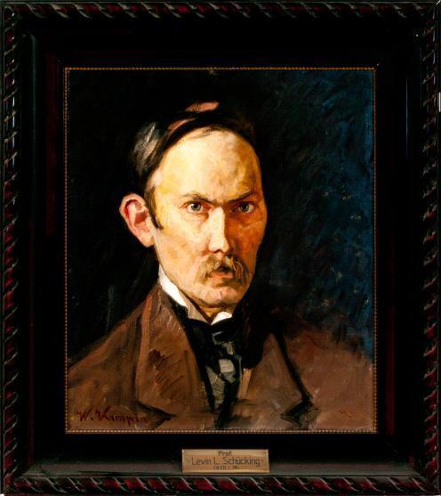 Porträt Levin Ludwig Schücking