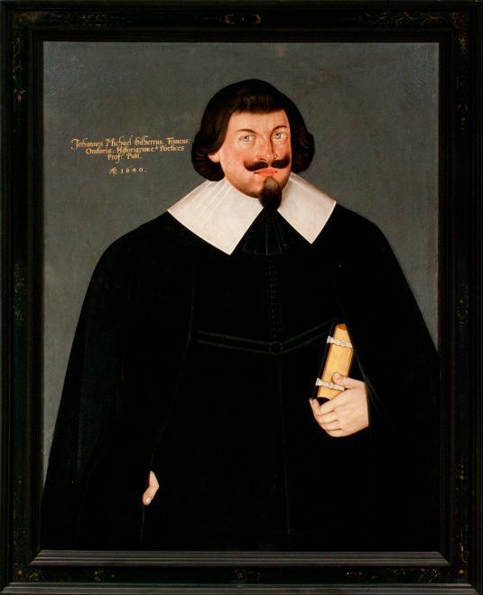 Porträt Johann Michael Dilherr