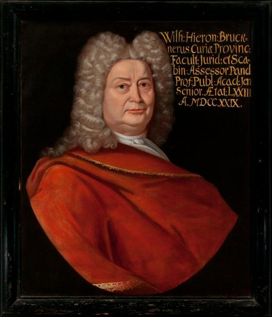 Porträt Wilhelm Hioeronymus Brückner