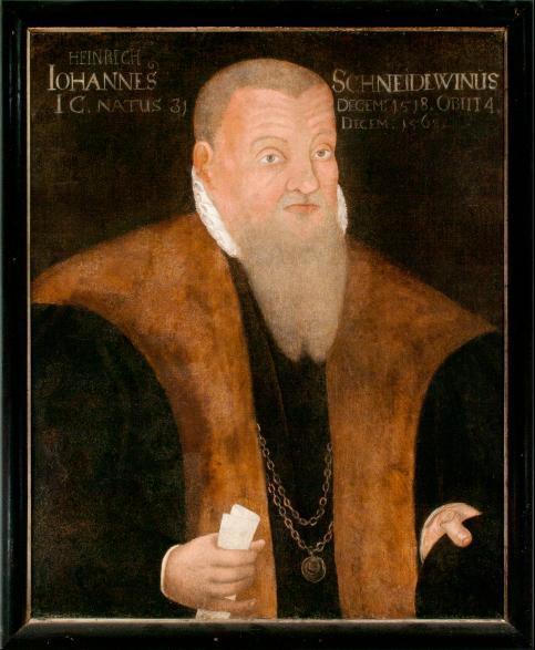 Porträt Heinrich Schneidewein
