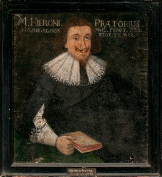 Porträt Hieronymos Prätorius
