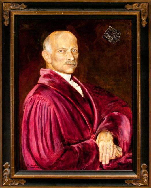 Porträt Gustav Wilhelm Johannes von Zahn