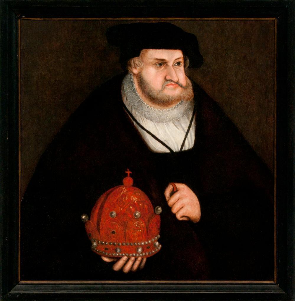 Porträt Friedrich III., der Weise