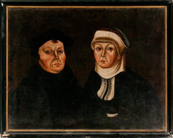 Martin Luther und Katharina von Bora (?)
