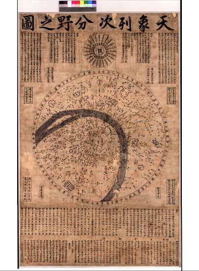 Koreanische Sternenkarte