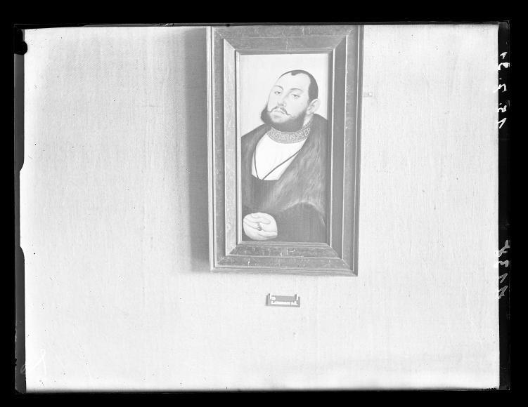Fotokopie Gemälde Hanfried