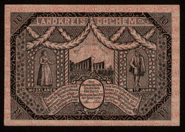 Notgeld - 10 Pfennig Cochem
