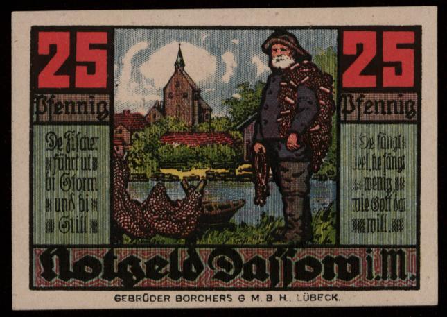 Notgeld - 25 Pfennig Dassow