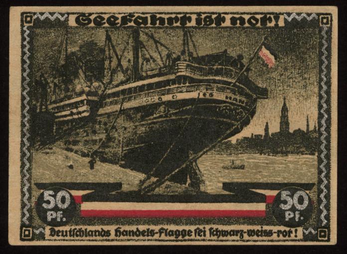 Notgeld - 50 Pfennig Hamburg