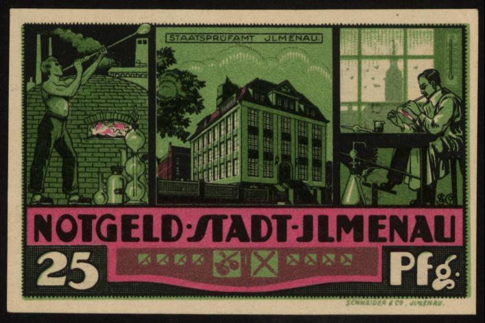 Notgeld - 25 Pfennig Ilmenau