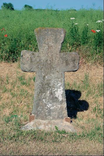 Das Steinkreuz in Egstedt.