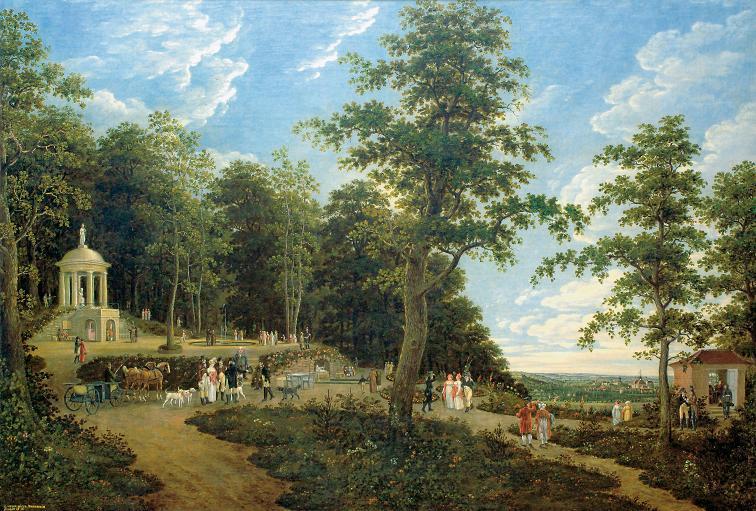Gemälde des Kaiser-Wilhelm-Denkmals von Nikolaus Christian Heinrich Dornheim (* vor dem 6. Oktober 1772 in Erfurt; † 9. August 1830 in Erfurt), Stadtmuseum Erfurt.