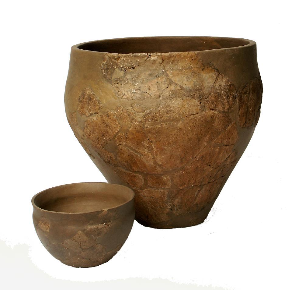 Keramik wie diese kommt selten in den Grabhügeln der mittleren Bronzezeit vor.