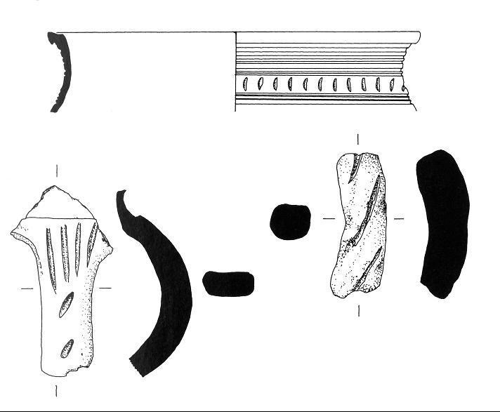 Keramikfunde von der Wüstung Pottendorf (nach Keil/ Müller 2001).