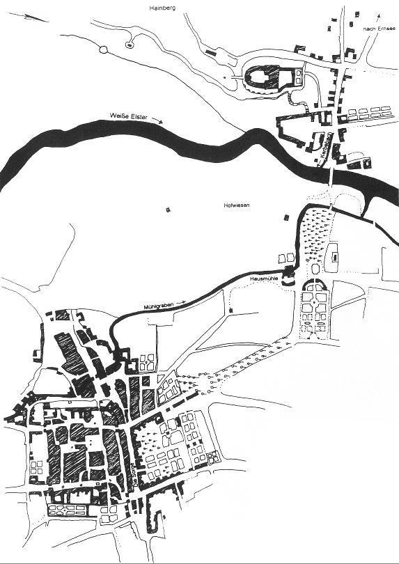 Stadtplan von 1794 (nach Löffler 2000).