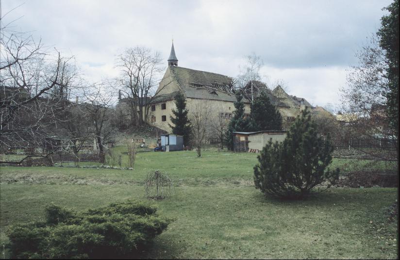 Die Wallanlage von Großaga lag im Bereich des Rittergutes.